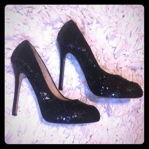 Dolce Vita Sequin Heels (9M) Black